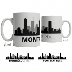 Montréal Skyline Coffee Mug