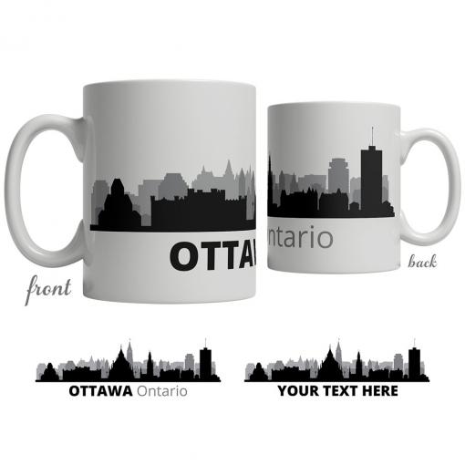 Ottawa Skyline Coffee Mug