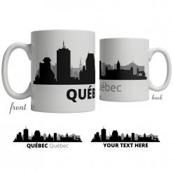 Québec Skyline Coffee Mug