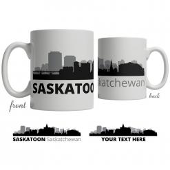 Saskatoon Skyline Coffee Mug