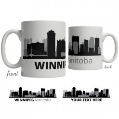 Winnipeg Skyline Coffee Mug