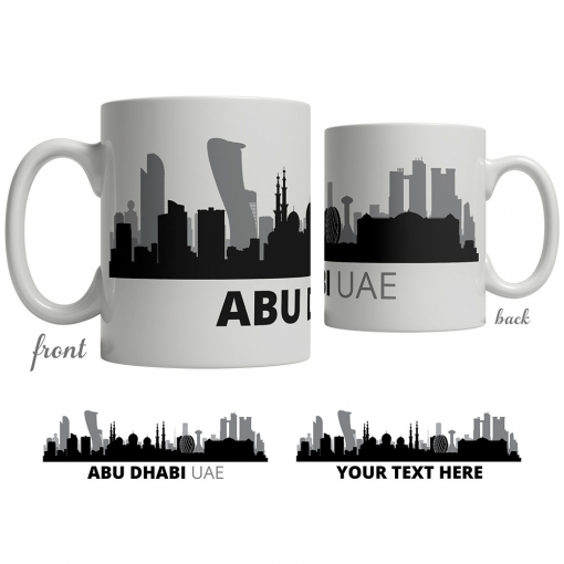 Abu Dhabi Skyline Coffee Mug