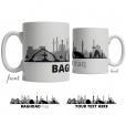 Baghdad Skyline Coffee Mug