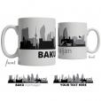 Baku Skyline Coffee Mug