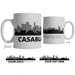 Casablanca Skyline Coffee Mug