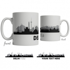 Delhi Skyline Coffee Mug