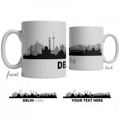 Delhi Skyline Coffee Mug