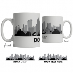 Doha Skyline Coffee Mug