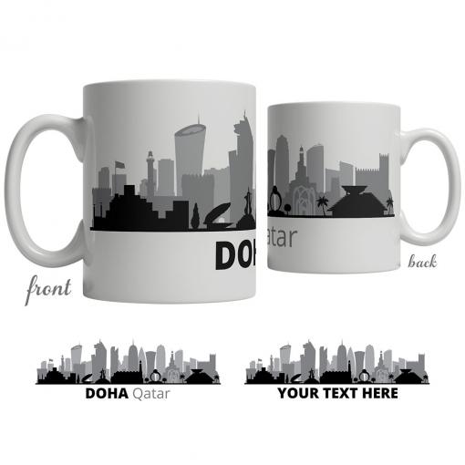 Doha Skyline Coffee Mug