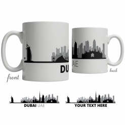 Dubai Skyline Coffee Mug