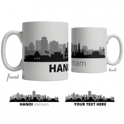 Hanoi Skyline Coffee Mug