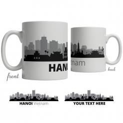 Hanoi Skyline Coffee Mug