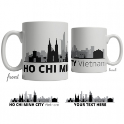 Ho Chi Minh City Skyline Coffee Mug
