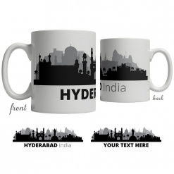 Hyderabad Skyline Coffee Mug