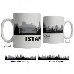 Istanbul Skyline Coffee Mug