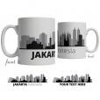 Jakarta Skyline Coffee Mug