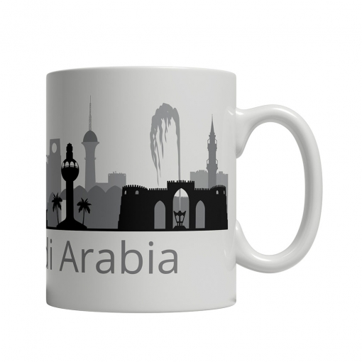 Jeddah Cityscape Mug