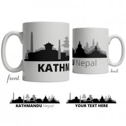 Kathmandu Skyline Coffee Mug