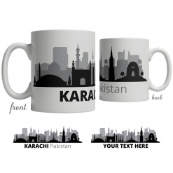 Karachi Skyline Coffee Mug