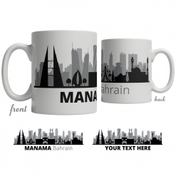 Manama Skyline Coffee Mug