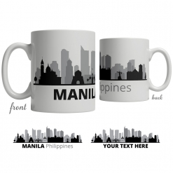 Manila Skyline Coffee Mug