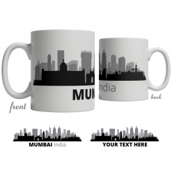 Mumbai Skyline Coffee Mug