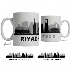 Riyadh Skyline Coffee Mug