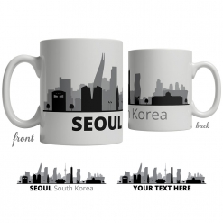 Seoul Skyline Coffee Mug