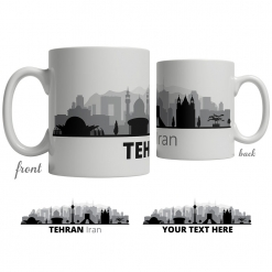 Tehran Skyline Coffee Mug