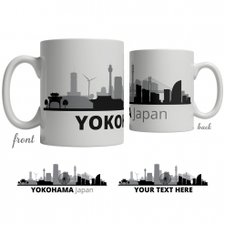 Yokohama Skyline Coffee Mug
