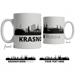 Krasnoyarsk Skyline Coffee Mug