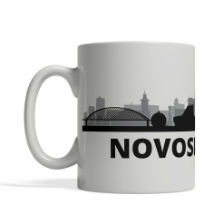 Novosibirsk Personalized Coffee Cup