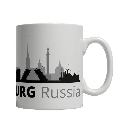 Saint Petersburg Cityscape Mug