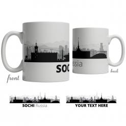 Sochi Skyline Coffee Mug