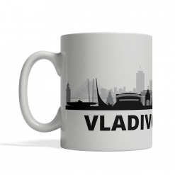 Vladivostok Personalized Coffee Cup
