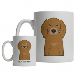 Coonhound Cartoon Mug