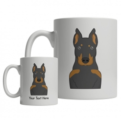 Beauceron Cartoon Mug