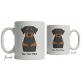 Coonhound Cartoon Coffee Cup