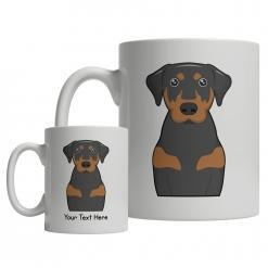 Coonhound Cartoon Mug