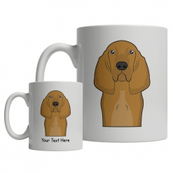 Bloodhound Cartoon Mug