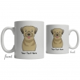 Border Terrier Cartoon Coffee Cup