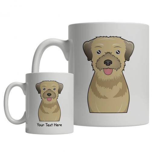 Border Terrier Cartoon Mug