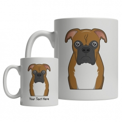 Boxer Cartoon Mug