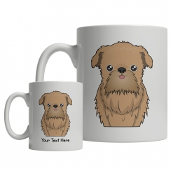 Brussels Griffon Cartoon Mug