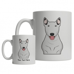 Bull Terrier Cartoon Mug