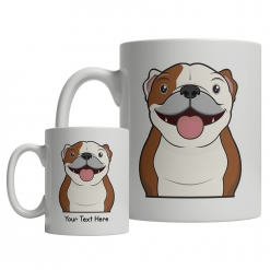 Bulldog Cartoon Mug