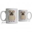 Bullmastiff Cartoon Coffee Cup