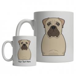 Bullmastiff Cartoon Mug