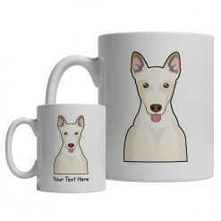 Canaan Dog Cartoon Mug