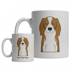 Cavalier King Charles Spaniel Cartoon Mug